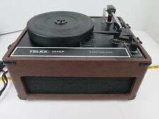 Vintage Telex Record Player 304EP Turntable Portable Bi-Directional Sound CS