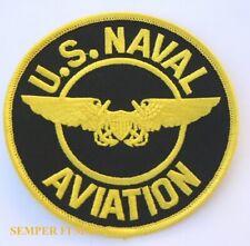 GENUINE NAVY Embroidered Badge NAVAL FLIGHT OFFICER On Type II DESERT DIGITAL