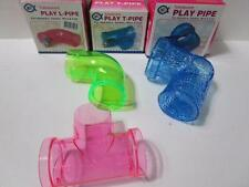 BULK BUY 6 MOUSE MICE PLAY TOYS play pipes l pipe t pipe  CHRISTMAS