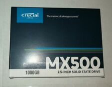 "Crucial MX500 1TB SSD 2.5"" SATA - NEW still sealed"