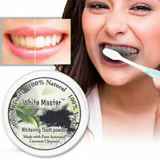 10g Teeth Whitening Powder Natural Organic Activated Charcoal Bamboo Toothpaste