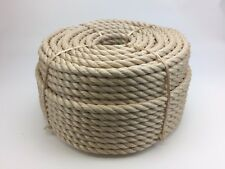 Rope - Synthetic Sisal, Sisal, Sisal For Decking,Garden & Boating, 16mm x 30 mts