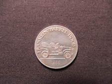 Sunoco Franklin Barrel Hood Antique Car Coin - 1906 - Antique Car Token - Ser 1