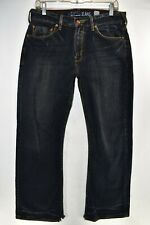 Guess The Cliff Boot Cut Fit Mens Dark Wash Jeans Size 31x30 Meas. 31x31 Bootcut