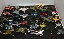 Lot of 35 Diecast Airplanes Fighter Jet Aircraft Military Planes