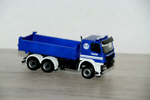 "THW Iveco Trakker 6x6 Meiller Kipper ""Umabu"" Technisches Hilfswerk 1:87 Herpa"