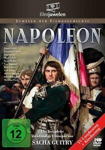 Napoleon (1955) - Das komplette 3-Std. Epos - Sacha Guitry - Filmjuwelen [DVD]