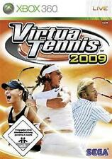 XBOX 360 VIRTUA TENNIS 2009 * Spin Top * Neuwertig
