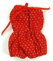 Barbie Vintage Fitting Red White Dotted Romper--Playsuit Elastic