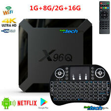 2020 X96Q 4K Android 10.0 OS Quad Core TV BOX 2.4G WIFI HDMI 3D UHD Combo + Gift