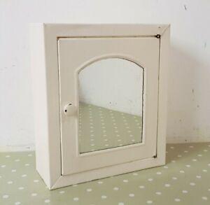 Vintage 36 cm Willet & Robinson Maidstone Kent Painted Metal Bathroom Cabinet