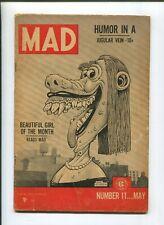 MAD #11 (4.0) 1954 BEAUTIFUL GIRL