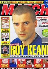 ROY KEANE / PIRES ARSENAL / HARRY REDKNAPP / LEEDSMatchApr142001