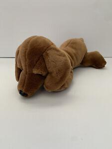 """Toys R Us Dachshund Dog Plush 16"""" Animal Alley Stuffed Animal Toy 2000 Brown"""