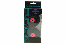 Supacaz Super Sticky Kush Road Bike Handlebar Tape, Galaxy Red/Black