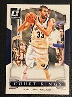 D17 2014-15 Donruss Court Kings #27 Marc Gasol Memphis Grizzlies