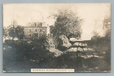 Norway House PICTOU Nova Scotia RPPC Rare Antique Photo Postcard 1915
