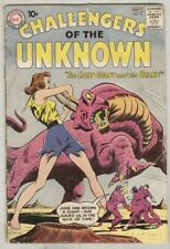 Challengers of the Unknown #15 August 1960 G
