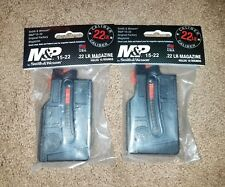 2 PACK Smith and Wesson M&P 15-22 Short Body Magazine 10 Round 22LR