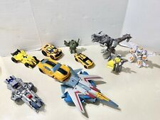 Transformers Action Figure Lot Of 10. Optimus Prime, Bumblebee +++ Read For Info