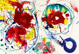 Sam Francis Untitled Giclee Canvas Print Paintings Poster Reproduction