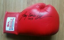 Tony Bellows, 'Creed' hand signed Lonsdale glove.