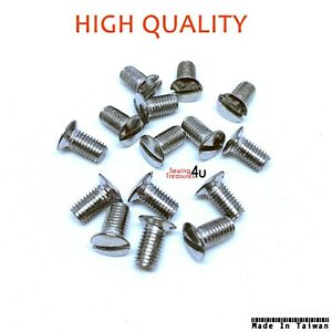 Throat Needle Plate SCREW Fits Industrial Sewing Machine Brother, Singer, Juki +