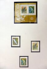 INDONESIA 1981 Birds Set & M/Sheet U/M NB3313