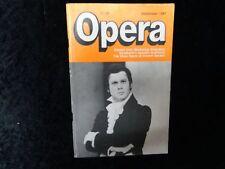 Opera Magazine - September 1987