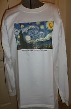 Starry Night Long Sleeve Museum Store Fine Art Metropolitan MOMA XL 2XL 3X 4X 5X