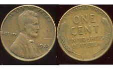 USA  one cent 1942   ( bis )