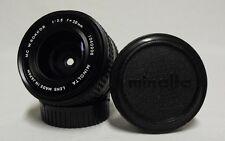 OEM MINOLTA MC W.Rokkor f/3.5 28mm Prime Wide-Angle Lens SLR Film Camera w/Caps