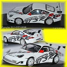 Porsche 911 GT3 RSR Presentación 2003 blanco 1.43 Minichamps