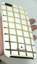 Kate Spade Hybrid Paintery Grid Cases iPhone 6 Plus/6s Plus, White