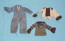 vintage Mego pota PLANET OF THE APES CLOTHES LOT #18 Cornelius Zaius Astronaut