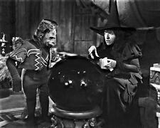 "New 8x10 Photo: Wicked Witch of the West and Flying Monkey in ""The Wizard of Oz"""