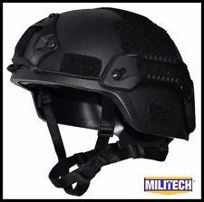 BK M/LG Bullet Proof LVL IIIA Tactical Ballistic KEVLAR OPS SOF Full Cut Helmet