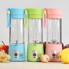 380ml Electric Fruit Juicer Maker Bottle Cup Handheld Usb Rechargeable Fruit Ble