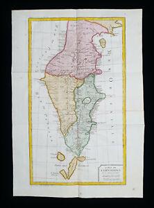 1754 J.N. BELLIN: NORTH SEA, GLACIAL SEA, KAMCHATKA PENINSULA, RUSSIA, SIBERIA