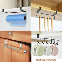 Cup Under Storage Holder Organizer Hanger Paper Rack Shelf Cabinet Towel Kitchen
