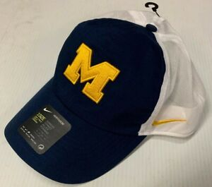 Nike Heritage University of Michigan Wolverines 1 size Adjustable Meshback Hat
