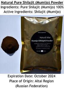 WHOLESALE!! BULK!! 5.5 lb (2.5 kgs) of Pure Altai Shilajit  Mumijo, Mumie, Мумие