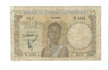 New listing Afrique Occidentale - french west africa - 25 Francs 1943