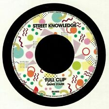 """GANG STARR - Full Clip (7"""" limited to 300 copies) Street Knowledge"""