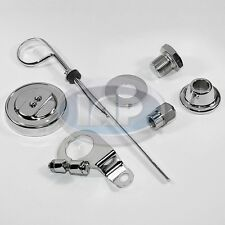 VOLKSWAGEN VW BUG BUGGY GHIA THING STANDARD CHROME DRESS UP KIT 5 Piece AC903031