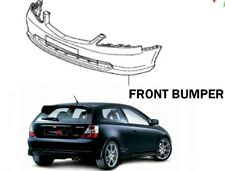New! GENUINE Honda Civic EP3 FACELIFT Front Bumper NH674P COSMIC GRAY PEARL