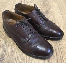 Alfred Sargent Mens 'Caldbeck' Smart Formal Pebble Grain Zug Brown  Shoe 6.5UK