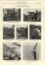1915 Beachy Head Ropeway Passenger Car Stone Delivery Banana Plantation