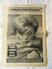 Rivista GIORNALE DEL MATTINO Supplemento della Domenica Anno XV N°244 Ott.1961