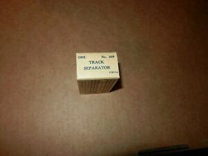 MARX #309 Track Separators, OB, NOS, Original